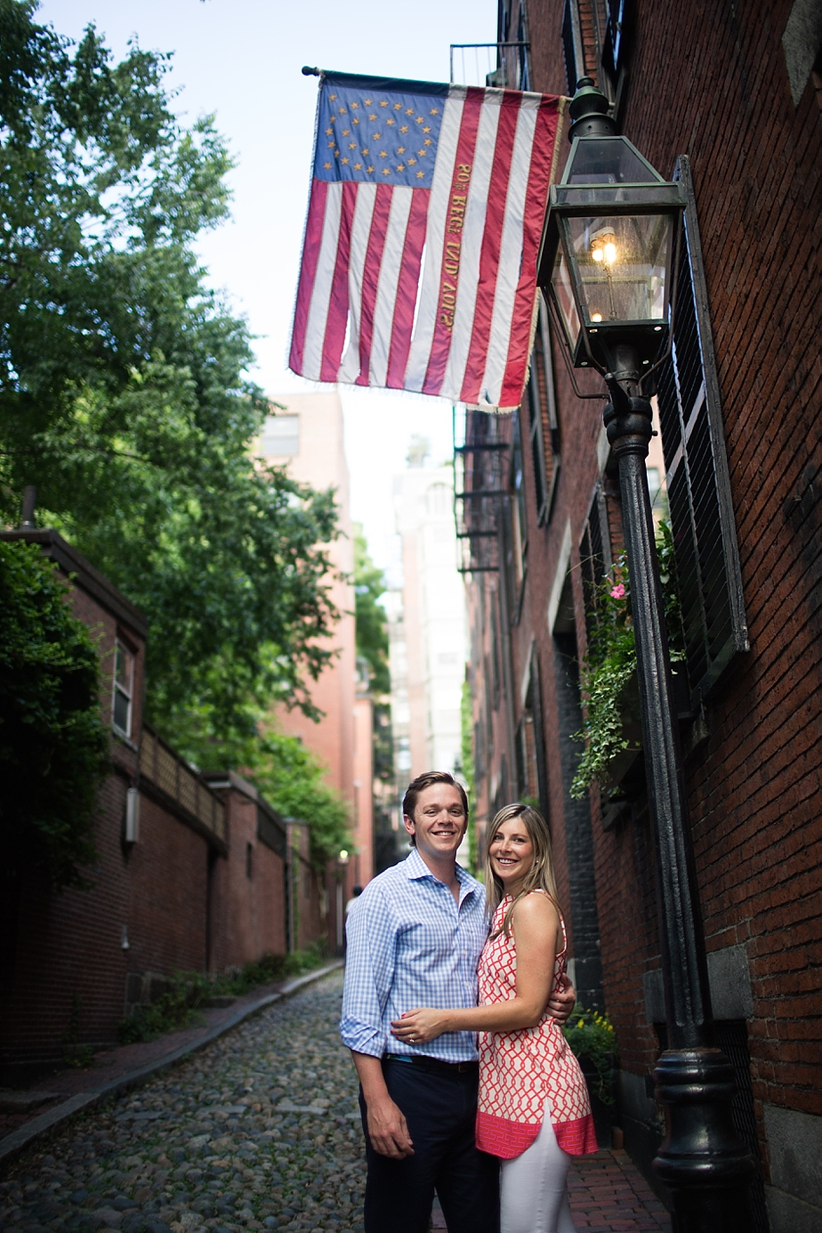 Boston Back Bay Engagement