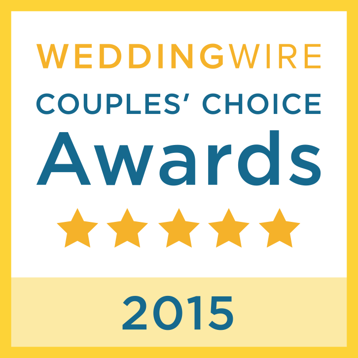 Wedding Wire Bride's Choice Award Winner - 2012