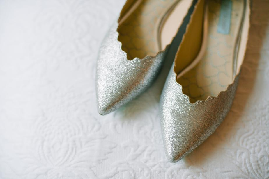 the barn at gibbet hill wedding shoes prep