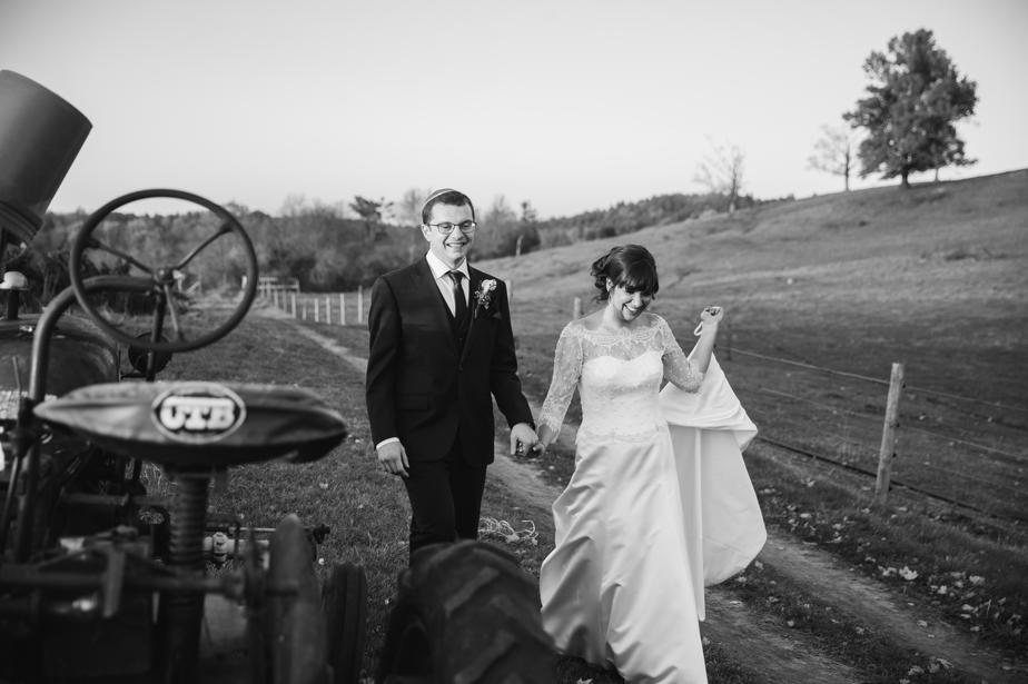 black and white bride and groom gibbet hill wedding